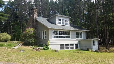 Tomahawk Single Family Home For Sale: N11225 Clear Lake Rd