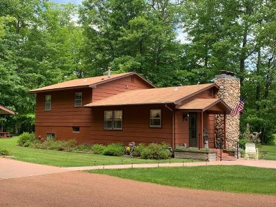 Lake Tomahawk Single Family Home Active Under Contract: 8206 Glencoe Dr