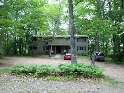Forest County, Iron Wi County, Langlade County, Lincoln County, Oneida County, Vilas County Condo/Townhouse For Sale: 4152 Satuit Ln