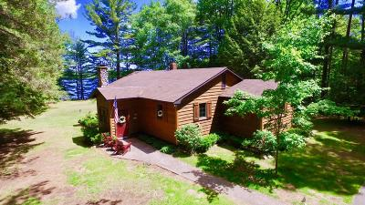 Lac Du Flambeau Single Family Home For Sale: 13940 Moss Lake Dr