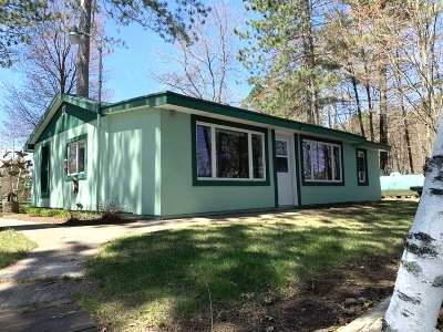 Tomahawk Single Family Home Active Under Contract: 2252 River Rd