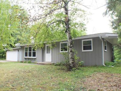 Minocqua Single Family Home For Sale: 8706 Brown Rd