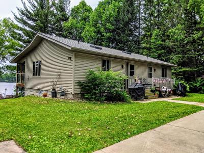 Phillips Single Family Home Active Under Contract: W7373 Minnow Lake Rd S