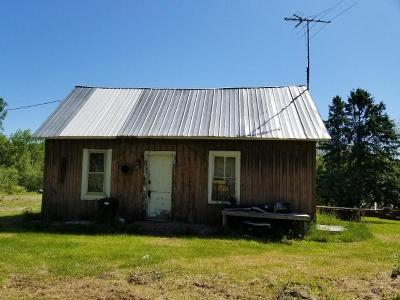 Forest County, Iron Wi County, Langlade County, Lincoln County, Oneida County, Vilas County Single Family Home For Sale: 4591w Rein Rd