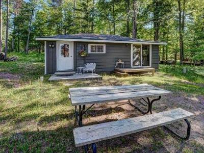Forest County, Iron Wi County, Langlade County, Lincoln County, Oneida County, Vilas County Single Family Home For Sale: 6221 Buckatabon Rd W #3