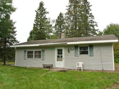 Minocqua Single Family Home For Sale: 14212 Price County Rd