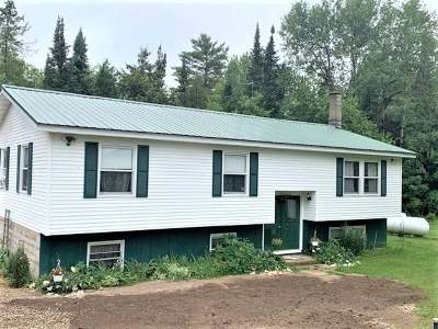 Aniwa, Elcho, Summit Lake, Bryant, Deerbrook, Elton, Lily, Pearson, Phlox, Pickerel, Polar, White Lake, Birnamwood Single Family Home For Sale: N10191 White Birch Rd