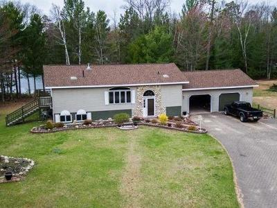 Langlade County, Forest County, Oneida County Single Family Home For Sale: 5161 Sand Lake Rd