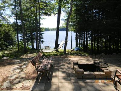 Elcho Single Family Home Active Under Contract: N10021 Loon Lake Ln
