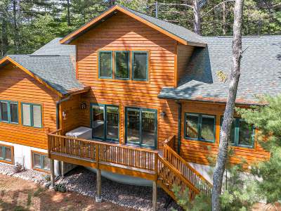 Langlade County, Forest County, Oneida County Single Family Home For Sale: 7622 Braeger Rd