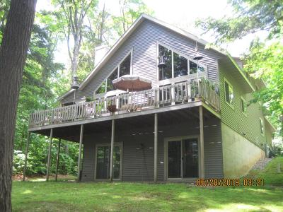Lac Du Flambeau Single Family Home For Sale: 14295 Muskesin Easement N