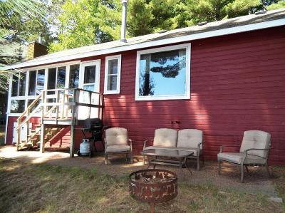 Langlade County, Forest County, Oneida County Single Family Home Active Under Contract: 8512 Hower Rd