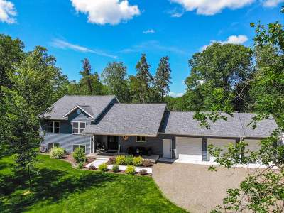 Tomahawk Single Family Home Active Under Contract: W4434 Wind Song Rd