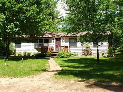 Lincoln County, Price County, Oneida County, Vilas County Single Family Home Active Under Contract: W7702 Winter Rd