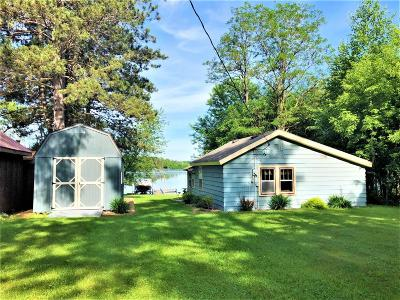 Single Family Home For Sale: N8039 Wilson Flowage Rd E