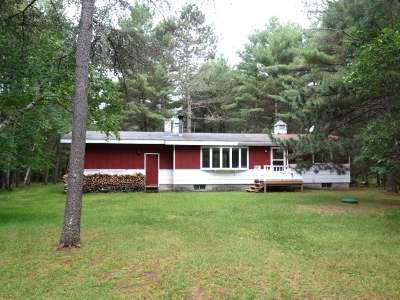 Minocqua Single Family Home Active Under Contract: 8774 Holz Dr