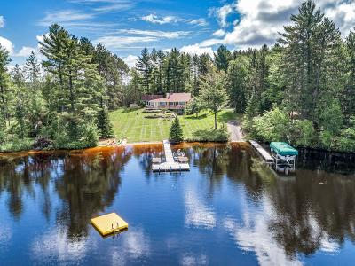 Lincoln County, Price County, Oneida County, Vilas County Single Family Home For Sale: 4168 North Dr