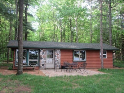 Lac Du Flambeau Single Family Home For Sale: 1306 Whitefish Lake Ln N