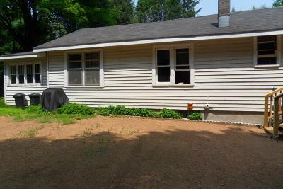 Elcho Single Family Home For Sale: W11268 Enterprise Lake Rd