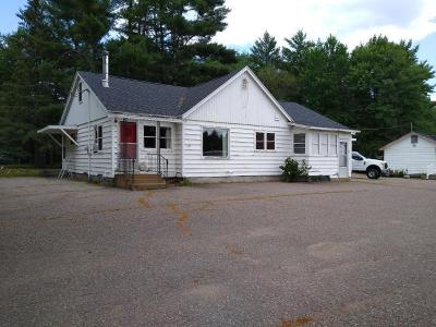 Eagle River Commercial For Sale: 1166 Hwy 45