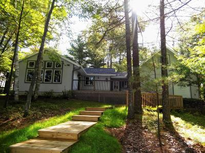Langlade County, Forest County, Oneida County Single Family Home For Sale: 9966 Baker Lake Rd