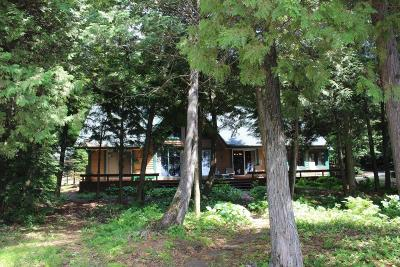 Lac Du Flambeau Single Family Home For Sale: 2411 Bobidosh Point Ln