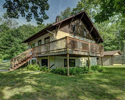 Langlade County, Forest County, Oneida County Single Family Home For Sale: 3724 Oday Lake Rd