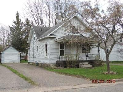 Antigo WI Single Family Home For Sale: $53,500