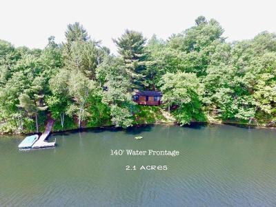 Lake Tomahawk Single Family Home For Sale: 6550 Bluebird Rd S
