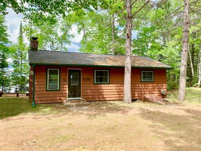 Three Lakes Single Family Home For Sale: 580 Birchwood Dr