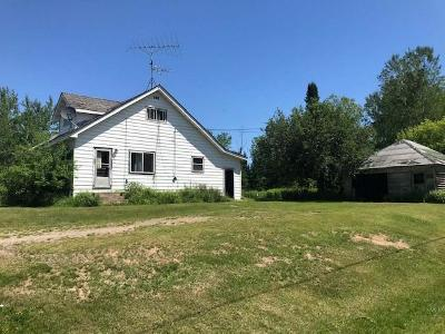 Aniwa, Elcho, Summit Lake, Bryant, Deerbrook, Elton, Lily, Pearson, Phlox, Pickerel, Polar, White Lake, Birnamwood Single Family Home For Sale: N6103 Hwy 55