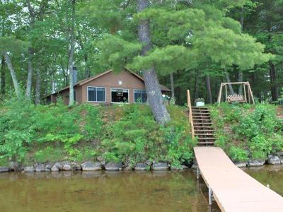Minocqua Single Family Home For Sale: 1758 Strawberry Point Dr S