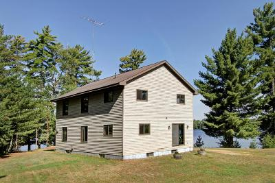 Lincoln County, Price County, Oneida County, Vilas County Single Family Home For Sale: 5690 Spider Lake Rd