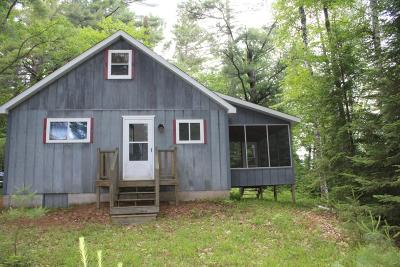 Forest County, Iron Wi County, Langlade County, Lincoln County, Oneida County, Vilas County Single Family Home For Sale: 2698 Bullseye Ln