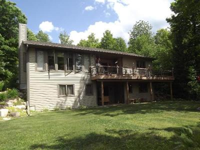 Langlade County, Forest County, Oneida County Single Family Home For Sale: 6286 Camp 6 Loop Rd