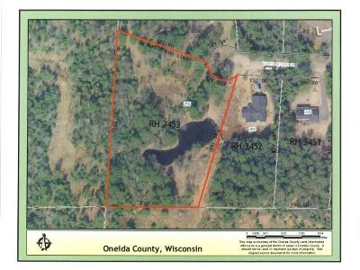 Rhinelander Residential Lots & Land For Sale: 250 Timber Heights Dr