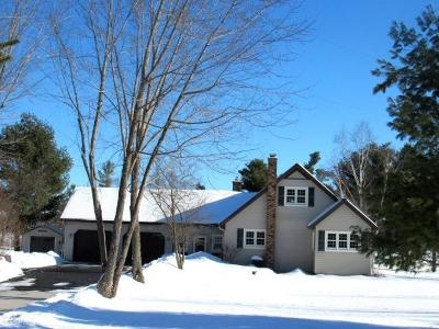 Lincoln County, Price County, Oneida County, Vilas County Single Family Home For Sale: N2698 Row Rd