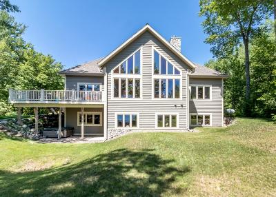 Lac Du Flambeau Single Family Home For Sale: 12696 Plummer Lake Rd