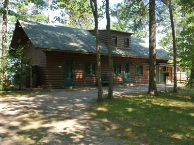 Lac Du Flambeau Single Family Home For Sale: 2203 Cth D