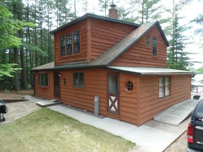 Tomahawk Single Family Home For Sale: N11137 Clear Lake Rd