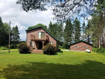 Fifield Single Family Home Active Under Contract: W7006 Chada Rd
