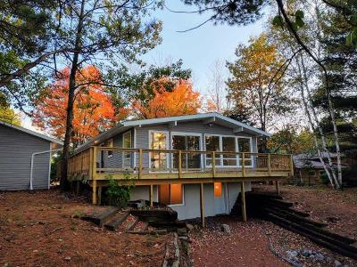 Langlade County, Forest County, Oneida County Single Family Home For Sale: 3280 Cth C