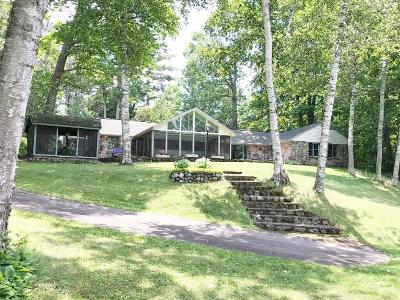 Lac Du Flambeau Single Family Home For Sale: 3155 Simpson Ln