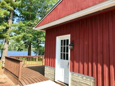 Langlade County, Forest County, Oneida County Single Family Home For Sale: 3353 Faust Lake Rd S