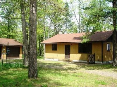 Lac Du Flambeau Single Family Home For Sale: 1565 Cardinal Ln