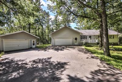 Lincoln County, Price County, Oneida County, Vilas County Single Family Home For Sale: W4315 Sandy Ln