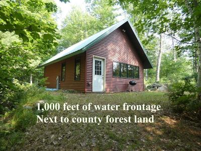Langlade County, Forest County, Oneida County Single Family Home Active Under Contract: 4613 Acorn Ln