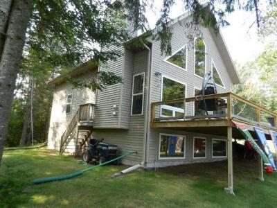 Minocqua Single Family Home For Sale: 8231 Lite-A-Log Ln