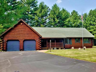 Lincoln County, Price County, Oneida County, Vilas County Single Family Home For Sale: 4137 Bay Rd N