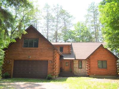 Langlade County, Forest County, Oneida County Single Family Home For Sale: 4127 Lake Lucerne Dr